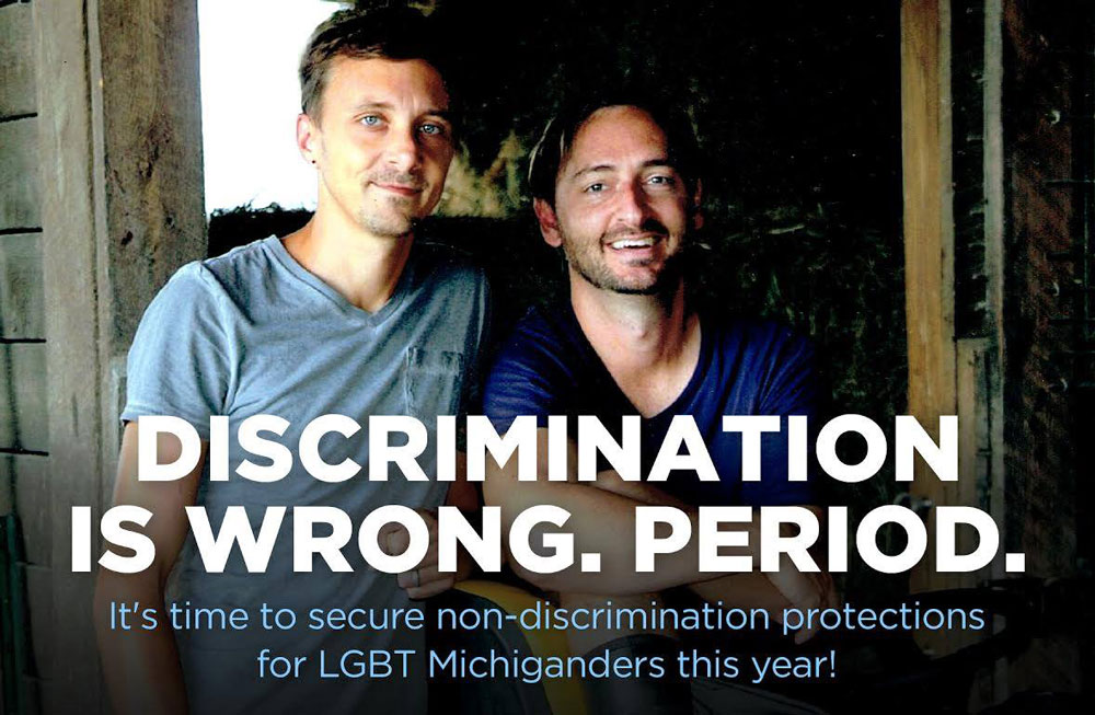 End LGBT Discrimination In Michigan